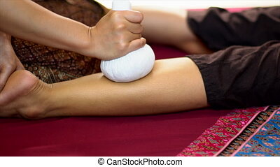 Thai Herbal Ball Massage, Spa Concept