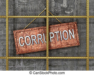 The fight against corruption. The concept of the fight...