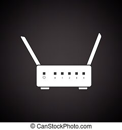 Wi-Fi router icon