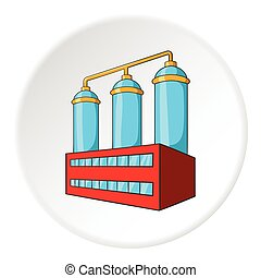 Wort preparation icon, cartoon style - Wort preparation icon...