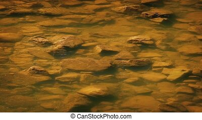 Rocky River Bed - Shallow river with rocky river bed