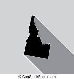 United States Illustration of Idaho - A United States...