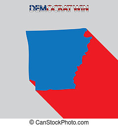 United States Election Illustration for Arkansas - The...