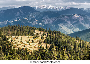 View from Great Fatra range, Slovakia - View from Great...