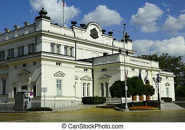 Bulgaria, Sofia, Parliament building
