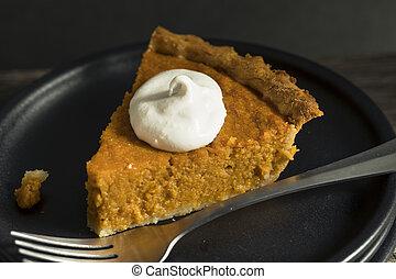 Homemade Festive Sweet Potato Pie For Thanksgiving
