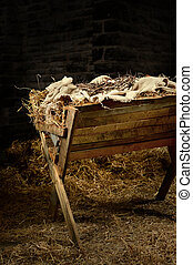 Manger with Crown of Thorns - Manger with crown of thorns....
