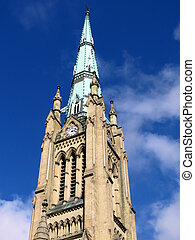 Toronto tower of St James Cathedral 2016 - Tower of the...