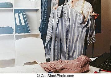 商店, 婦女, 時裝, 零售