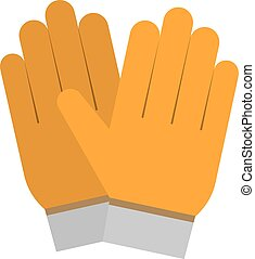 Yellow gloves hand protection - yellow gloves, hand...