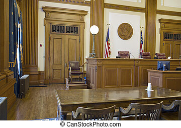 Court of Appeals Courtroom in Pioneer Courthouse