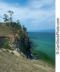 coast of Olkhon island,