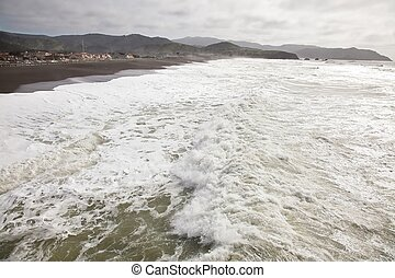Pacifica Pier is a fishing pier in Pacifica, California The...
