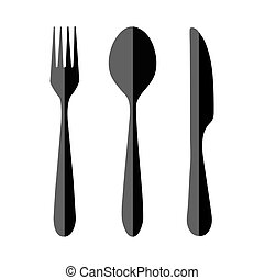 fork spoon knife