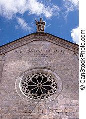 Cathedral of Santa Maria Assunta - Sarzana Italy - Detail of...