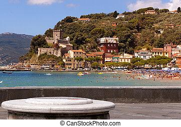 village, de, SAN, Terenzo, -, Lerici, Liguria, Italie