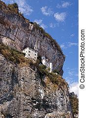 Madonna della Corona Sanctuary - Verona Italy - Madonna...