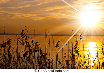 Sunset at Garda Lake - Veneto Italy - Sunset at Garda Lake...
