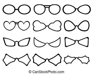 Fancy Specs Frames Silhouettes