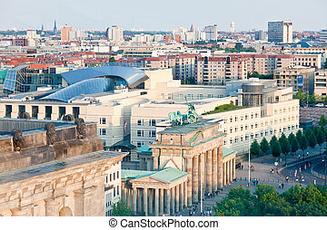 BRANDENBURG GATE in Berlin - The BRANDENBURG GATE in Berlin...