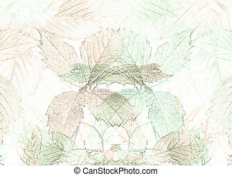 background with leaves - background with soft pattern of...