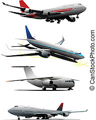 Airplane Vector illustration