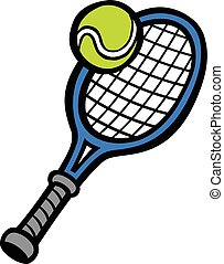 Tennis Racquet & Tennis Ball