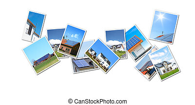 collage solar - A collage with some of my solar themed...