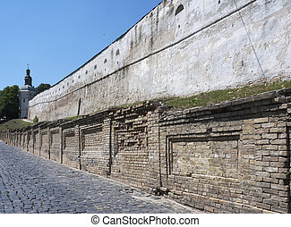 Wall in Kiev-Pechersk lavra