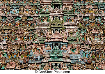 Temple - Close up details at a hindu temple
