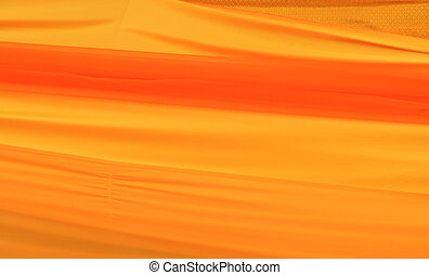 Gold silk fabric background