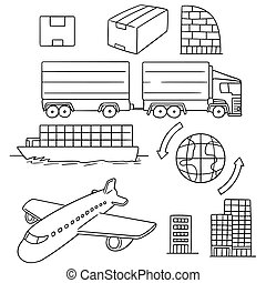 vector set of logistic