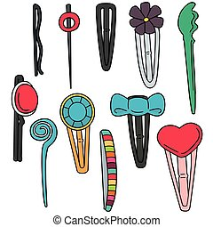 vector set of hairpin