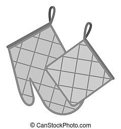 Oven glove Vector Clipart EPS Images. 770 Oven glove clip ...
