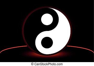 yin and yang,