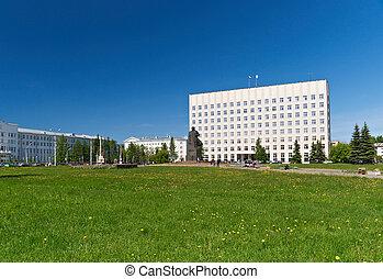 Arkhangelsk cyti,north Russia