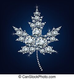 Canadian Maple Leaf Icon made a lot of diamonds