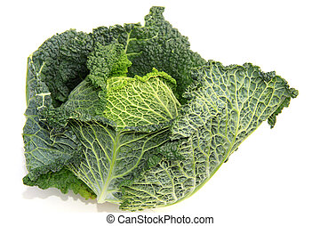 Kale or leaf cabbage is a group of vegetable cultivars...