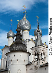 Golden Ring of Russia - Rostov Kremlin Belfry of the...