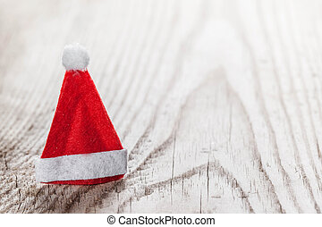 Santa Claus red hat - Small decorative Santa Claus red hat...