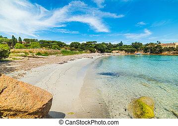 small cove in Costa Smeralda, Sardinia