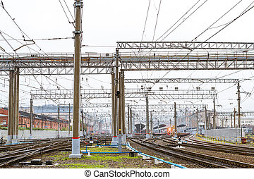 Moscow railway station, St. Petersburg - Transport...