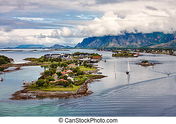 Bronnoysund Norway - Bronnoysund, Beautiful Nature Norway