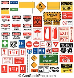 Signs Collection illustration
