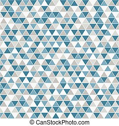 Seamless Triangle Pattern - Colorful seamless triangle...