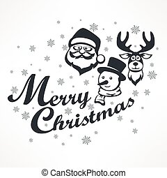 Mary Christmas poster on white