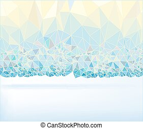 Abstract Background 03 A - Abstract polygonal perl colour...
