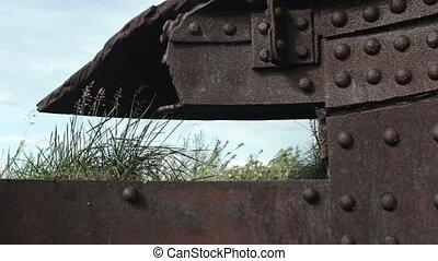Steel Citadel ruins - embrasure fort Totleben in the Baltic...