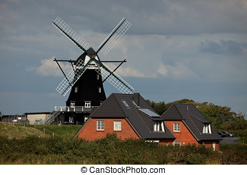 The Historic Windmill of Pellworm