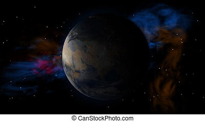 Earth Space Spin Less Stars
